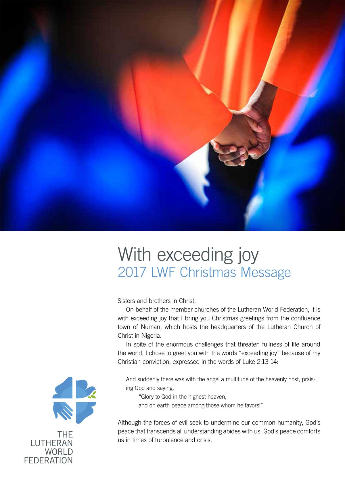 Christmas Message 2017