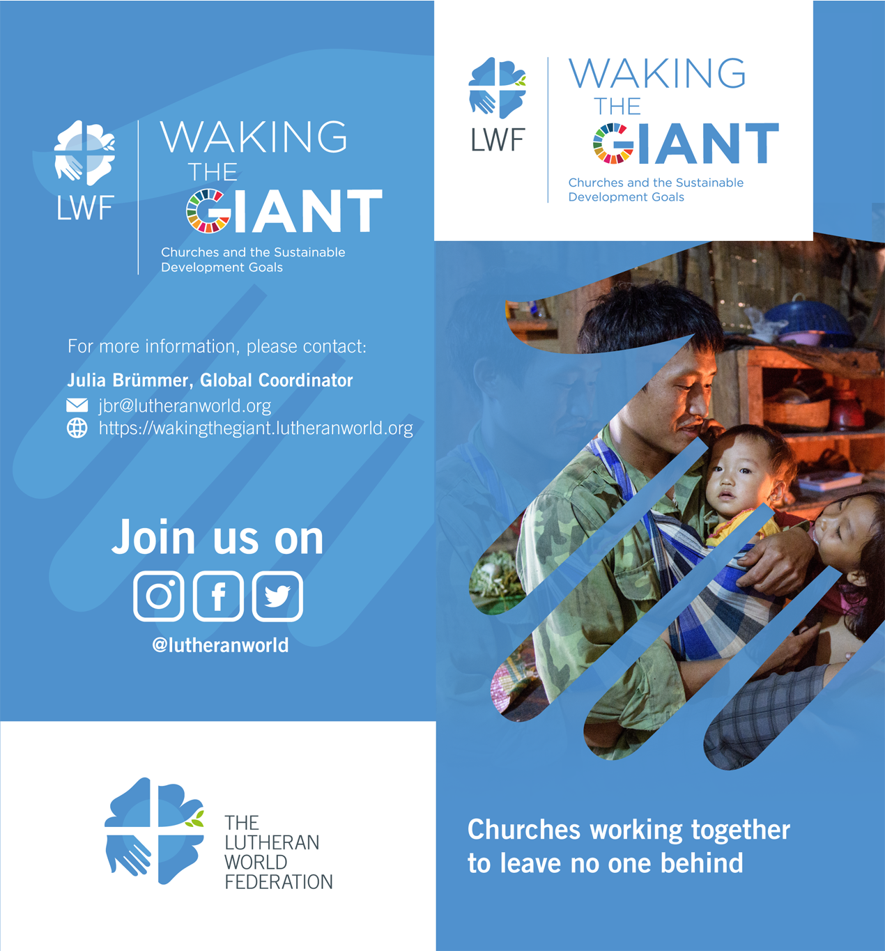 """Waking the Giant"" A4 Presentation Flyer"