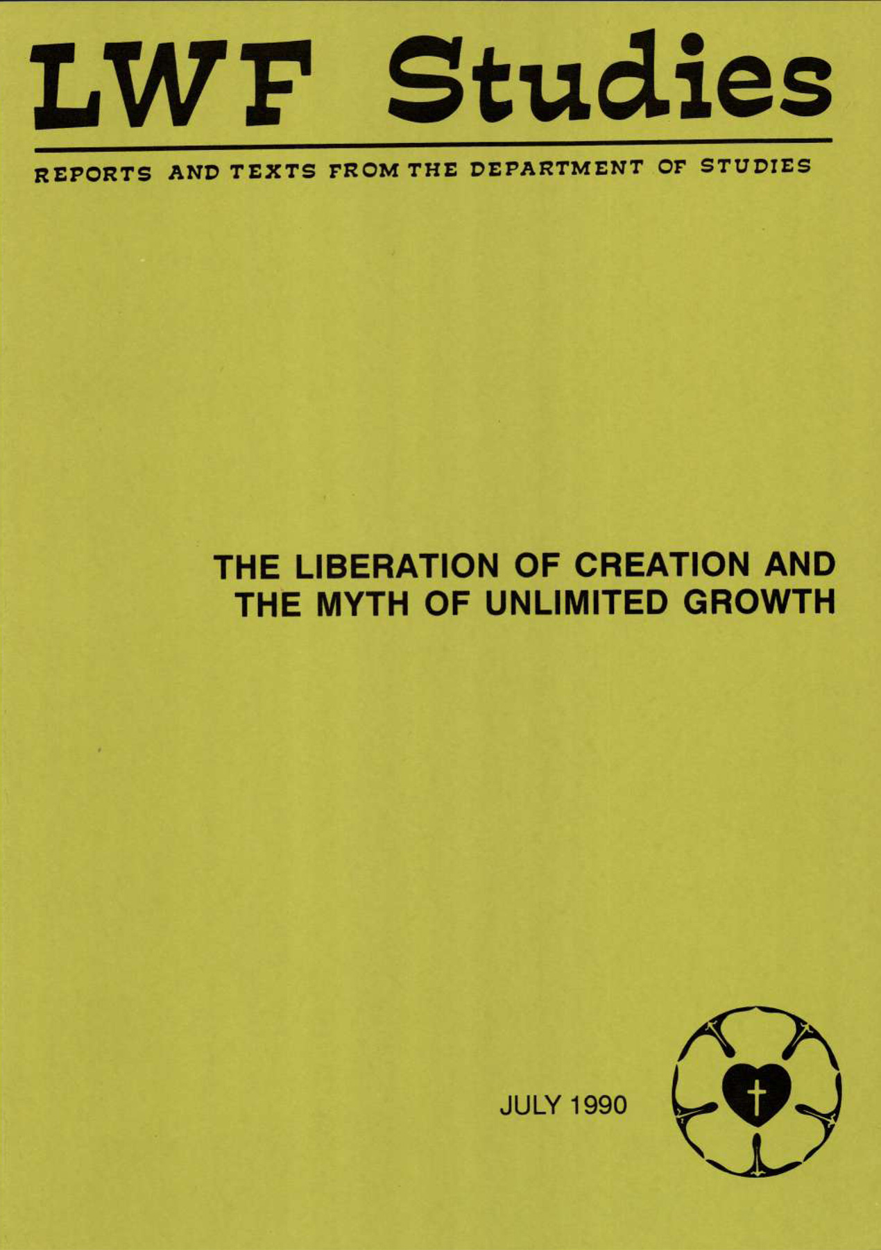 LWF Studies. July 1990