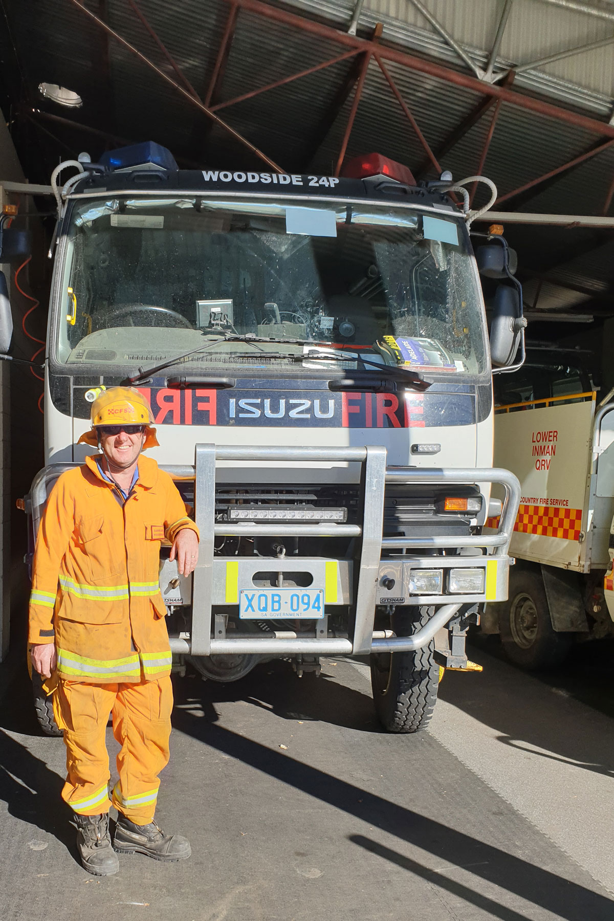 Woodside Lutheran chairperson and firefighting volunteer Darren Juers said it was great to see church and community members working together.