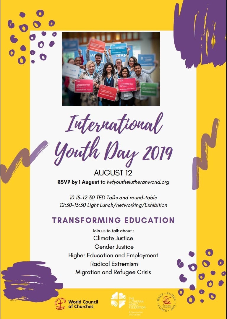 International Youth Day Flyer