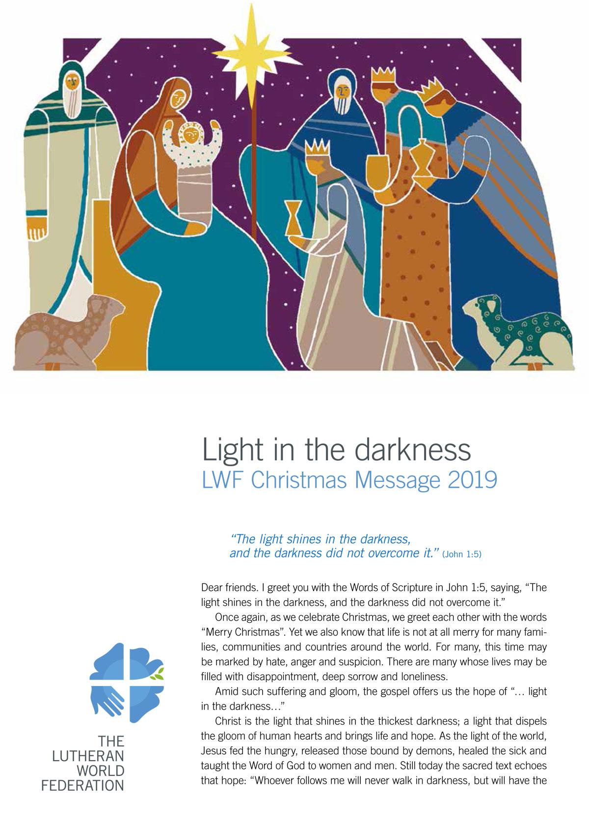 Christmas Message 2019
