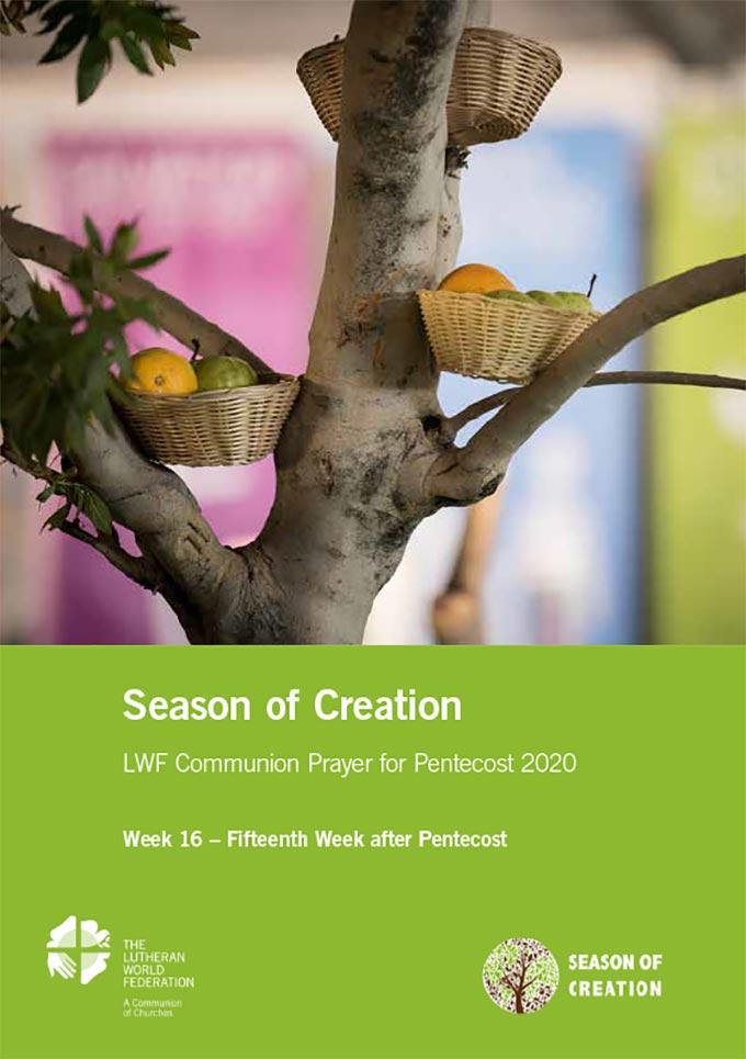 Season of the Spirit - LWF Communion Prayer for the Pentecost 2020: Week 16