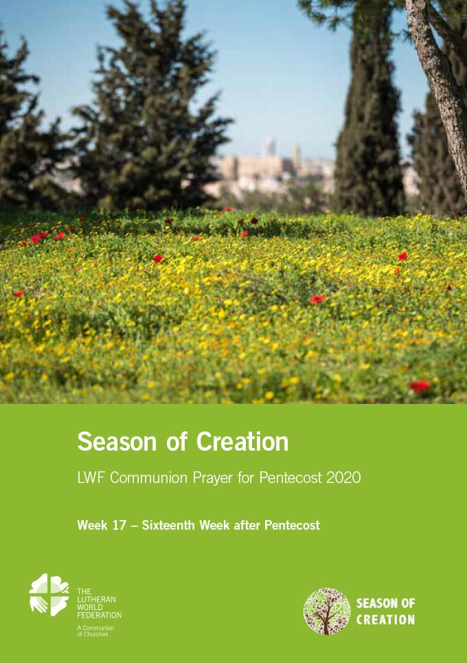 Season of the Spirit - LWF Communion Prayer for the Pentecost 2020: Week 17