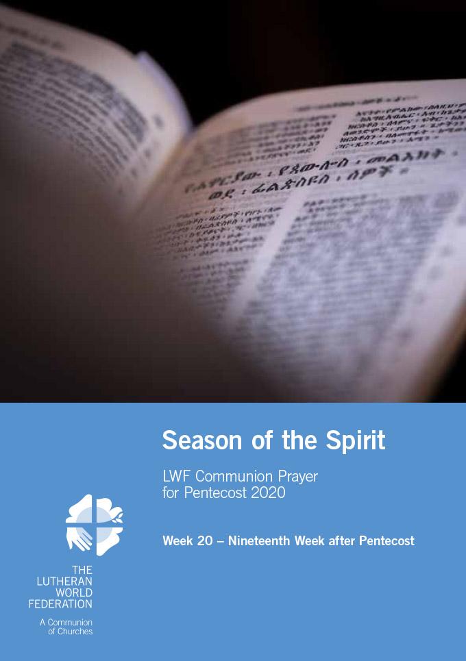 Season of the Spirit - LWF Communion Prayer for the Pentecost 2020: Week 20