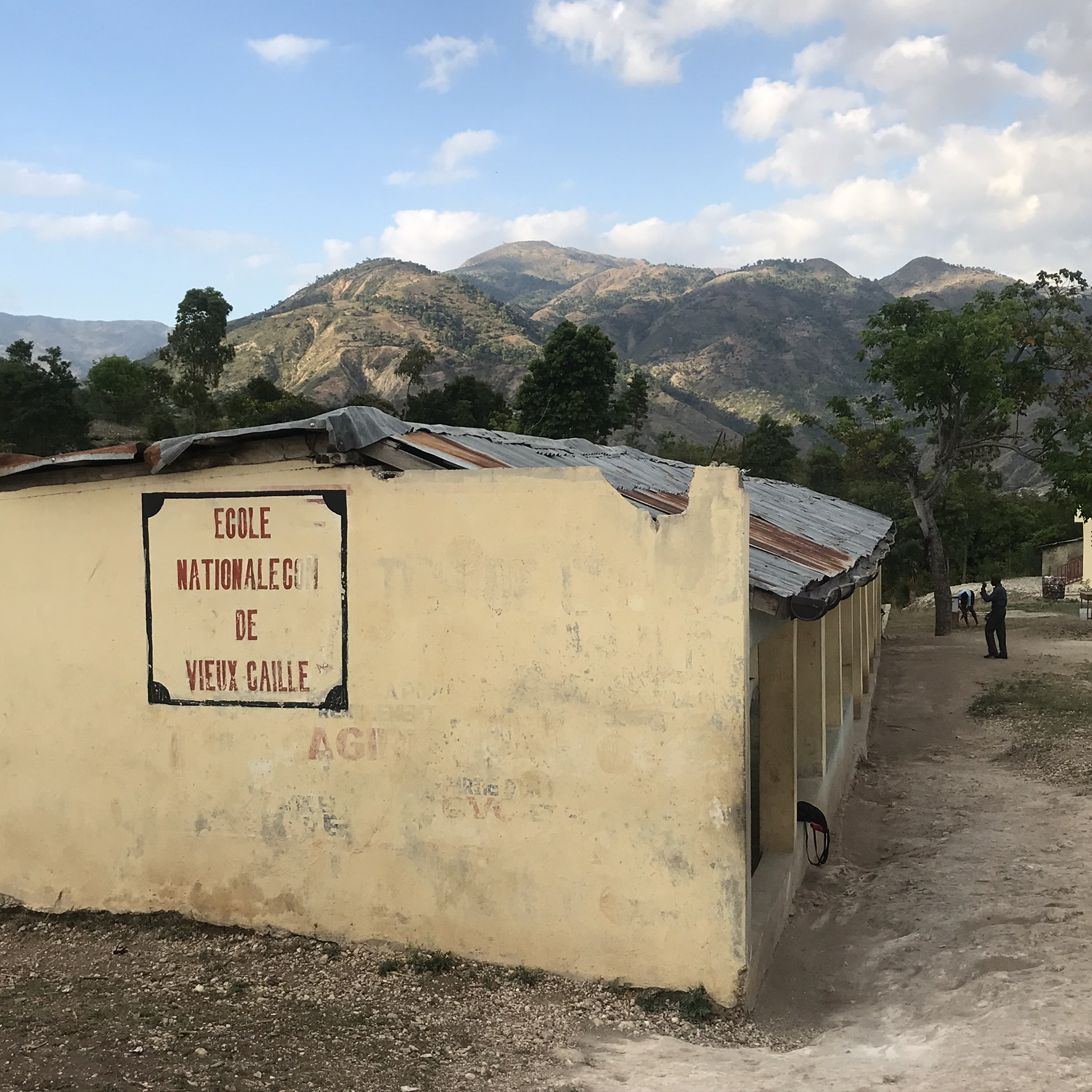 Haiti's Vieux Caille National School located in a rural area outside Grand Goave to the west of Port-au-Prince