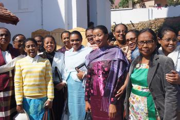 A group of women participants at MLC's jubilee. Photo: MLC
