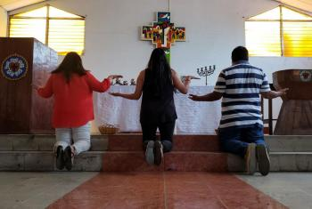 The Nicaraguan Lutheran Church of Faith and Hope began an initiative to pray for 40 days for 40 churches via video messages. Photo: David ABDALAH (ILFE)