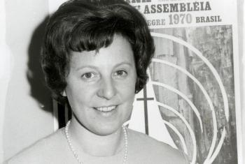 Christa Held started working at the LWF in 1960. Photo: LWF Archives