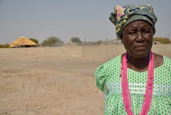 """""""The worst drought I have ever seen."""" Tusnerde worries for her village. Photo: LWF/ Thomas Ekelund"""