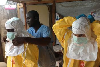 Ebola, for which there is no cure or vaccine, is one of the most deadly viruses, killing up to 90 percent of those infected. © EC/ECHO, Creative Commons Share-Alike (CC-BY-SA)