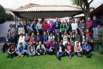 Participants at the April 2015 LAC Church Leadership Conference in La Paz, Bolivia. Photo: Eugenio Albrecht