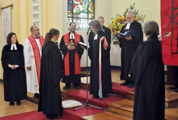 The Lutheran Church in Chile has ordained its first woman as a minister. Photo: Leonardo Pérez