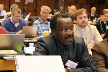Bishop Dr Ndanganeni P. Phaswana at Council 2011. Photo: LWF/H.Putsman Penet