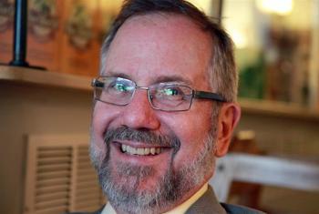 Rev. Prof. Dr Timothy Wengert, member of the LWF Task Force on the Mennonite Action. Photo: Ivo Huber