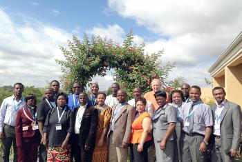 Theologians attending the regional hermeneutics workshop in Johannesburg, South Africa. Photo: LWF/I. Benesch