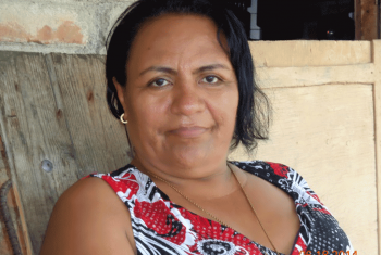 Alma Nidia Martinez believes in the power of women – and of change. Photo: LWF Central America