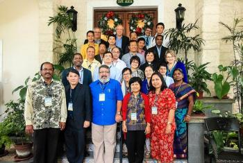 Asian church leaders gathered to discuss differences and commonalities across Lutheran churches of the Asia region. Photo: LWF/JC Valeriano
