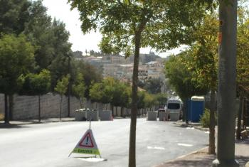 Recently erected checkpoints cause delays for patients and staff attempting to reach area hospitals. Photo: LWF