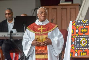 Bishop Patricia Davenport, ELCA Southeastern Pennsylvania Synod. Photo: Bob Fisher-SEPAComm