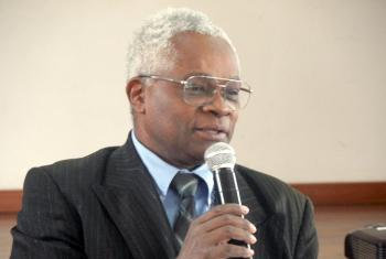 MLC President Dr Rakoto Endor Modeste says the workshop highlighted sustainability and good governance as areas of importance for the Malagasy Lutheran Church. Photo: MLC