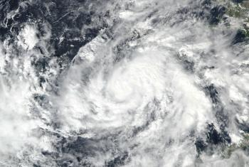Tropical Storm Eta on November 1, 2020. Photo: NASA (public domain)