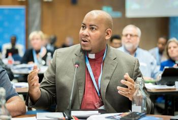 LWF Council member Rev. William Flippin Jr. Photo: LWF / Albin Hillert
