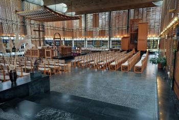 Chapel of Geneva's Ecumenical Center. Photo: LWF/Albin Hillert