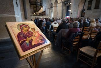 the Week of Prayer focus on the ecumenical spirit of the Reformation commemoration pledged by the LWF, General Secretary Rev Dr. Martin Junge said. Photo: WCC-COE/Albin Hillert