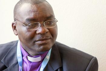 Churches in the Central African Republic strive to help warring factions reconcile, says newly elected president of the Evangelical Lutheran Church of the Central African Republic, Rev. Dr Samuel Ndanga-Toué. Photo: LWF/S.Gallay