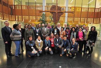 LWF lay leaders: studying Lutheran theology at historical sites of the Reformation and experiencing the worldwide church community.
