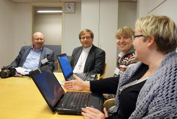 A group discussion at the European region church leaders' consultation. Photo: Johan Ehrning