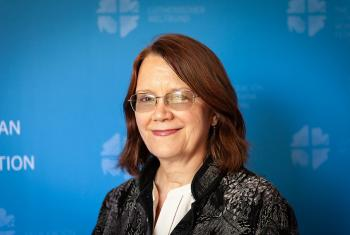Rev. Judith VanOsdol, LWF program executive for Gender Justice and Women's Empowerment. Photo: LWF/S. Gallay