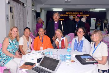 Members of the consultation, in Myanmar. The consultation aimed to tell positive stories of how the two faith traditions engage with each other in Myanmar. Photo: Anglican church
