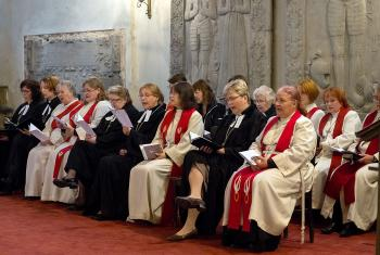 Festive worship service at Tallinn St. Mary's Cathedral on the occasion of celebrating 50 years of women's ordination in Estonia on 7 September 2017. Photo: Endel Apsalon