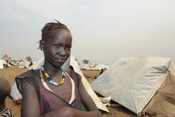 A South Sudanese girl at the Lietchor refugee camp in Gambella, western Ethiopia. Photo: Christof Krackhardt/ACT- Diakonie Katastrophenhilfe