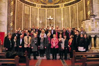 Participants at the 2014 LWF European church leadership gathering in Rome, hosted by the Evangelical Lutheran Church in Italy. Photo: Gerhard Frey-Reininghaus