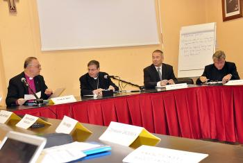 Participants at the panel discussion on the 2017 Reformation anniversary. Photo: Gerhard Frey-Reininghaus