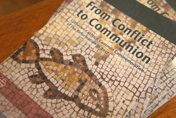 From Conflict to Communion describes jointly the history of the Reformation by the Lutherans and Roman Catholics. In telling the story together, they offer a powerful witness to a fragmented world, says Rev. Dr Martin Junge. Photo: LWF/S.Gallay