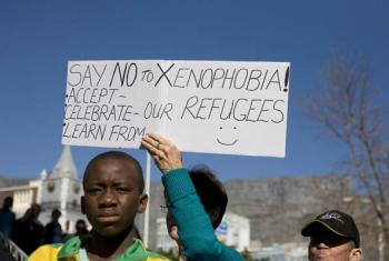 Fan walk for peace and unity - photo from 2010. Credit: Janah Hattingh, Creative Commons