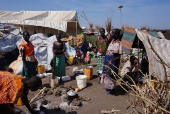 Bentiu UNMISS IDP camp