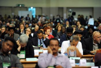 WCC Assembly Plenary. Photo: Peter Williams/WCC