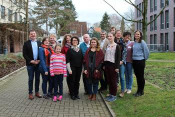 GNC/LWF scholarship holders and staff met in Hanover, Germany. Photo: LWF/A. Weyermüller
