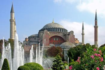 Hagia Sophia in Istanbul, Turkey. Photo: Dennis Jarvis