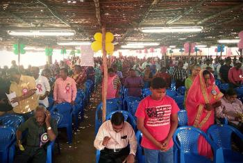 Hundreds of people from sixty congregations gathered in Cuddalore, India on 13-14 January for the Reformation commemoration of the Arcot Lutheran Church (ALC). Photo Dora Hemalatha