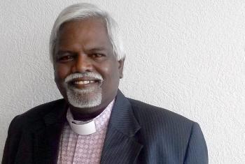 Bishop Bhanu. Photo: LWF/C. Kästner