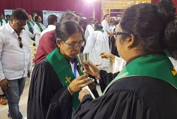 The 25th anniversary celebration highlighted the various ministries in which ordained women serve in India's Lutheran churches. Photo: LWF/P. Lok