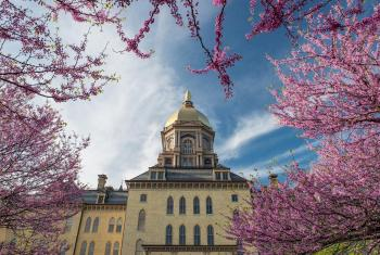 The University of Notre Dame in the U.S. state of Indiana where the consultation on the future of the JDDJ will take place. Photo: University of Notre Dame/Barbara Johnston