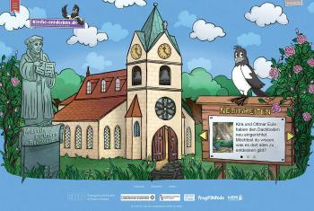 "The ""Discovering church"" website invites children to discover the church and Christian faith and to explore the life of Martin Luther and the Reformation. Photos: epv"