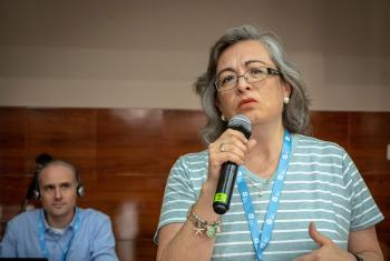 Rev. Angela Trejo Haager of the Mexican Lutheran Church, one of the coordinators of the LWF Women and Gender Justice Network of churches in Latin America and the Caribbean. Photo: LWF/A.Danielsson